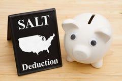 De SALT-conclusie voor de federale belastingen van de V.S. royalty-vrije stock afbeeldingen