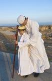 De Samaritaan Shavuot bidt Stock Foto's
