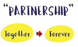 De Samenhorigheid Harmony Concept van positiviteitsvibes stock illustratie