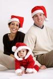 De samenhorigheid van Kerstmis Stock Foto's
