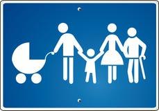 De samenhorigheid van ouders Royalty-vrije Illustratie