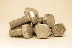 De samenstelling van bouten Royalty-vrije Stock Afbeeldingen