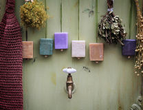 De Samenstelling van de badkamers Royalty-vrije Stock Foto's
