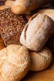 De samenstelling van de bakkerij Stock Foto
