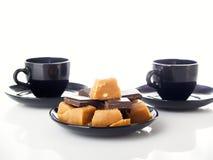 De samenstelling van de koffie Stock Afbeelding
