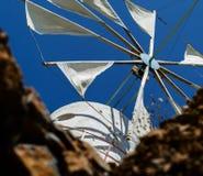 De samenstelling van de molen bokeh mening Stock Foto's