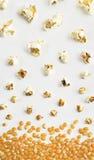 De samenstelling van de popcorn Stock Fotografie