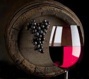 De samenstelling van de wijn Stock Fotografie