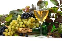 De samenstelling van de wijn Royalty-vrije Stock Foto