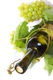 De samenstelling van de wijn royalty-vrije stock afbeeldingen