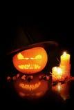 De samenstelling van Halloween stock afbeelding