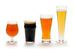 De Samenstelling van het bier Stock Fotografie
