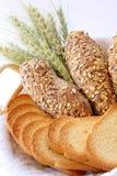 De samenstelling van het brood Stock Afbeelding