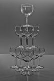 De samenstelling van het glas Royalty-vrije Stock Foto's