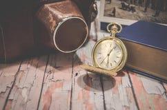 De samenstelling van het horlogestilleven Royalty-vrije Stock Foto's