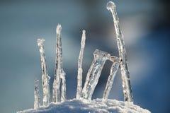 De samenstelling van het ijs Stock Afbeeldingen