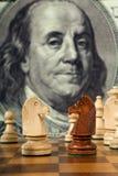 De samenstelling van het schaak Royalty-vrije Stock Foto's