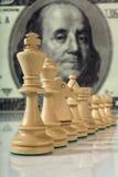 De samenstelling van het schaak Stock Afbeeldingen