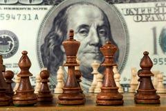 De samenstelling van het schaak Stock Afbeelding