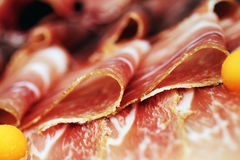De samenstelling van het vlees Stock Fotografie