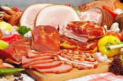 De samenstelling van het vlees Royalty-vrije Stock Afbeelding