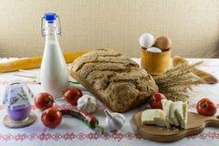 De samenstelling van het voedsel Stock Foto's