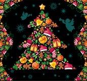 De samenstelling van Kerstmis Stock Afbeelding