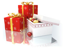 De samenstelling van Kerstmis Stock Fotografie