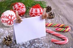 De samenstelling van Kerstmis Royalty-vrije Stock Fotografie