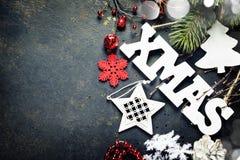 De samenstelling van Kerstmis Stock Foto