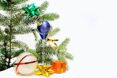 De samenstelling van Kerstmis. Royalty-vrije Stock Foto