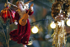De samenstelling van Kerstmis Stock Afbeeldingen