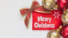 De samenstelling van Kerstmis De achtergrond van Kerstmis Stock Afbeeldingen