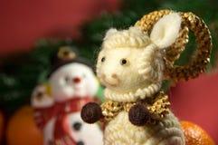 De samenstelling van Kerstmis Symbool van 15 nieuw jaar Stock Afbeeldingen