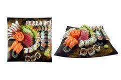 De Samenstelling van sushi Royalty-vrije Stock Afbeeldingen