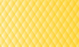 De samenvatting, achtergrond, gele kleur, ziet, perfect snoepje eruit, ontwerp, nieuwe 2018, zemelen royalty-vrije illustratie