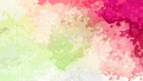 De samenvatting animeerde het bevlekte groene hete roze magenta van de achtergrond naadloze lijn videomunt