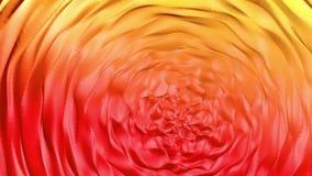 De samenvatting animeerde rood-sinaasappel 3d geef terug vector illustratie