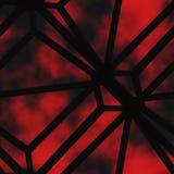 De samenvatting bevlekte glas/metaal- rooster Royalty-vrije Stock Afbeelding