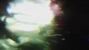 De samenvatting defocused cyberpunk elegante holografische achtergrond stock footage