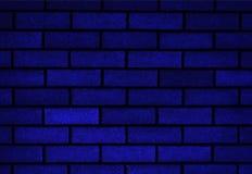 De samenvatting doorstond textuur bevlekte oude blauwe de bakstenen muurachtergrond van de gipspleister lichtgrijze en oude verf  stock foto's