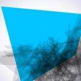 De samenvatting onderzoekt vierkant mozaïek. EPS 8 Stock Foto