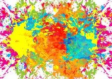 De samenvatting ploetert de achtergrond van het kleurenontwerp illustratie D Stock Foto