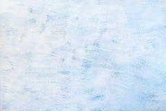 de samenvatting schilderde lichtblauwe achtergrond Blauwe houten textuur stock afbeelding