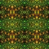 De samenvatting stileerde naadloos patroon van reptielhuid stock illustratie