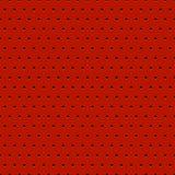 De samenvatting stippelde rode metaalachtergrond Stock Foto