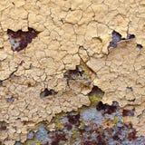 De samenvatting tastte kleurrijke de schilverf aan behang grunge van de achtergrondijzer roestige artistieke muur Royalty-vrije Stock Foto's