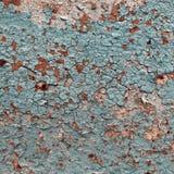 De samenvatting tastte kleurrijke de schilverf aan behang grunge van de achtergrondijzer roestige artistieke muur Royalty-vrije Stock Afbeelding