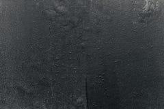 De samenvatting tastte zwarte de schilverf aan behang grunge van de achtergrondijzer roestige artistieke muur Stock Foto