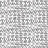 De samenvatting trekt van de de Bloem Bloemenlijn van de Ornamentwerveling Spiraalvormig Naadloos Patroon Als achtergrond Royalty-vrije Stock Foto's